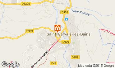 Carte Saint Gervais Mont-Blanc Appartement 2553