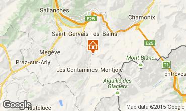 Carte Les Contamines Montjoie Chalet 980
