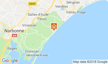 Carte Saint Pierre la Mer Villa 116577