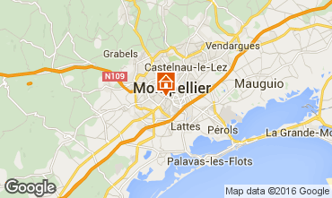 Carte Montpellier Appartement 102919