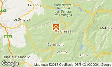 Carte La Bresse Chalet 66776