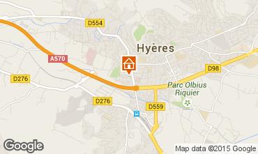 Carte Hyères Appartement 5805