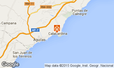 Carte Águilas Appartement 96000