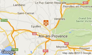 Carte Aix en Provence Villa 58652