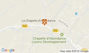 Carte La Chapelle d'Abondance Appartement 115949