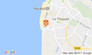 Carte Le Touquet Studio 7768