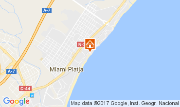 Carte Miami Playa Appartement 75548