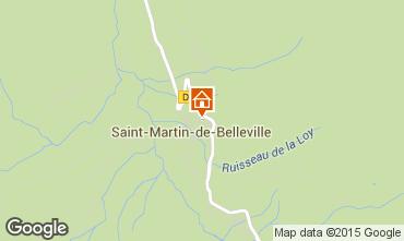 Carte Saint Martin de Belleville Chalet 2650