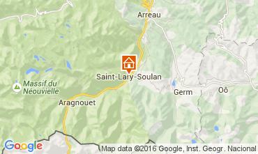Carte Saint Lary Soulan Appartement 72151
