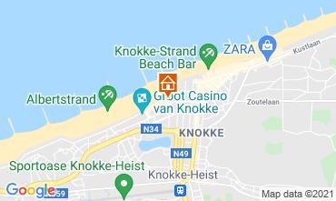 Carte Knokke-le-Zoute Studio 109423
