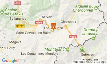 Carte Chamonix Mont-Blanc Appartement 68975