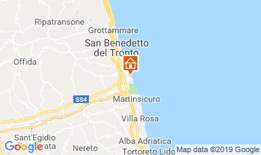 Carte San Benedetto del Tronto Appartement 119084