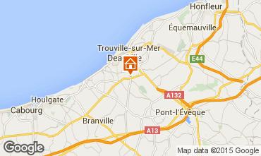 Carte Deauville Mobil-home 17224
