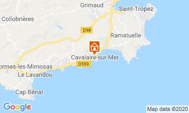 Carte Cavalaire-sur-Mer Appartement 80263