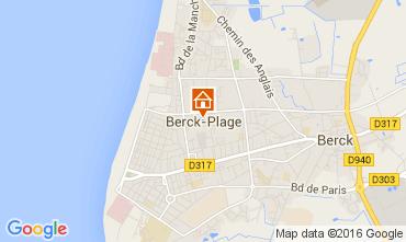 Carte Berck-Plage Appartement 104236