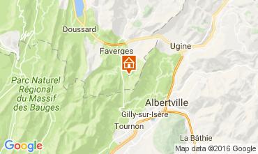 Carte Annecy Gite 106449