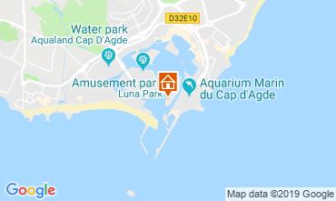 Carte Cap d'Agde Appartement 101513
