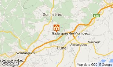 Carte Montpellier Villa 9203