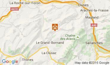 Carte Le Grand Bornand Chalet 106041