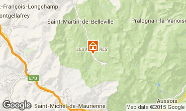 Carte Les Menuires Chalet 74891