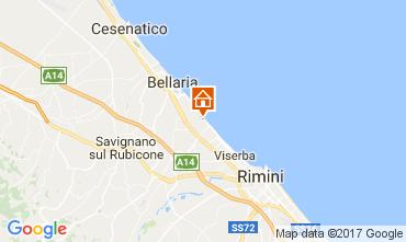 Carte Bellaria Igea Marina Chambre d'hôte 109717