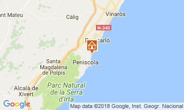 Carte Peñíscola Appartement 32523