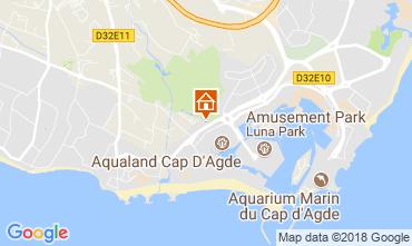 Carte Cap d'Agde Villa 114991