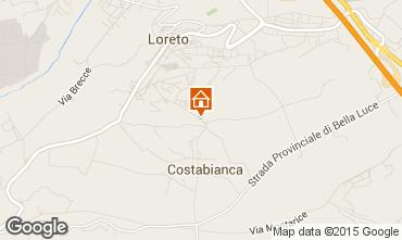 Carte Loreto Appartement 87954