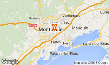 Carte Montpellier Studio 102338