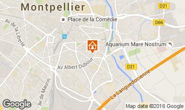 Carte Montpellier Studio 102338