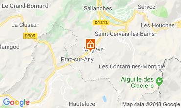 Carte Megève Chalet 117151