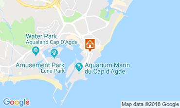 Carte Cap d'Agde Appartement 55415