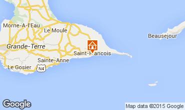 Carte Saint Francois Gite 53942