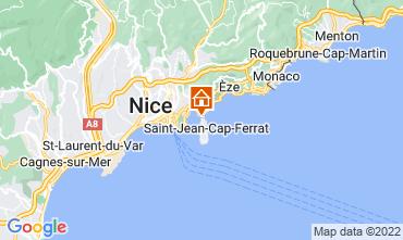 Carte Beaulieu sur Mer Villa 113634