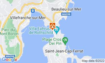 Carte Nice Villa 113634