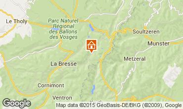 Carte La Bresse Hohneck Chalet 4543