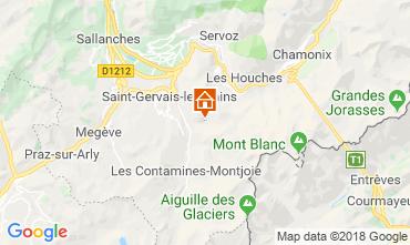 Carte Saint-Gervais-les-Bains Gite 117570