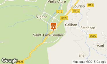 Carte Saint Lary Soulan Appartement 19638