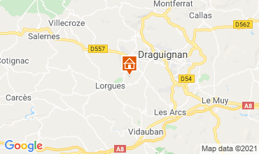Carte Draguignan Moulin 86770