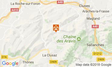Carte Le Grand Bornand Appartement 114978