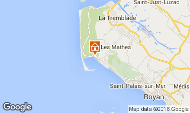 Carte La Palmyre Mobil-home 101940