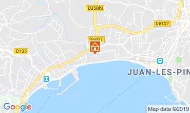 Carte Juan les Pins Appartement 119803