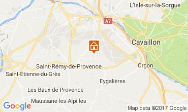 Carte Saint Rémy de Provence Gite 107964