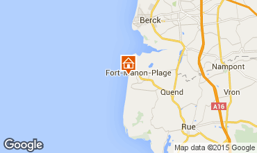 Carte Fort Mahon Maison 66066