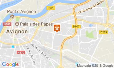 Carte Avignon Appartement 115919