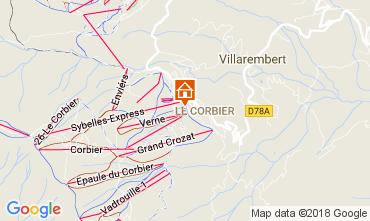 Carte Le Corbier Studio 1054