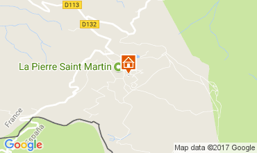 Carte Arette La Pierre Saint Martin Appartement 66669
