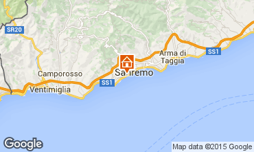 Carte Sanremo Appartement 100261