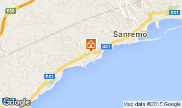 Carte Sanremo Appartement 100261