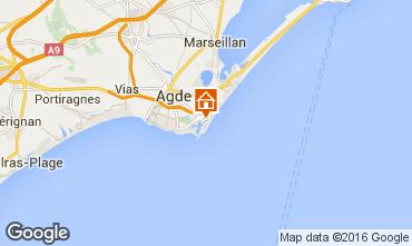 Carte Cap d'Agde Studio 68521